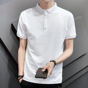 New men's trendy short-sleeved t-shirt A